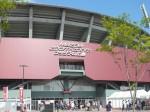 新広島球場での一枚。