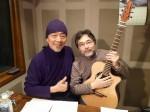 1月20日、鈴木康博さんと。収録後の1枚。