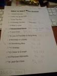 ニューCDの曲順。「いつ・何を」演奏したか書いてありますぅ。6曲目と10曲目を入れ替えました。