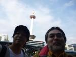 エバラ健太+住出勝則+京都タワー。