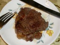 Buffalo steak! My first time to try this type of meat.
