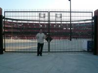 At Busch Stadium, the home of St. Louis Cardinals on 3/16/07.