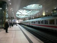 Frankfurt station.