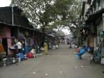ムンバイのある通りの風景