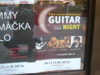 The tour poster I found on the window of a bakery in Osnabruck, Germany on 10/31/08.